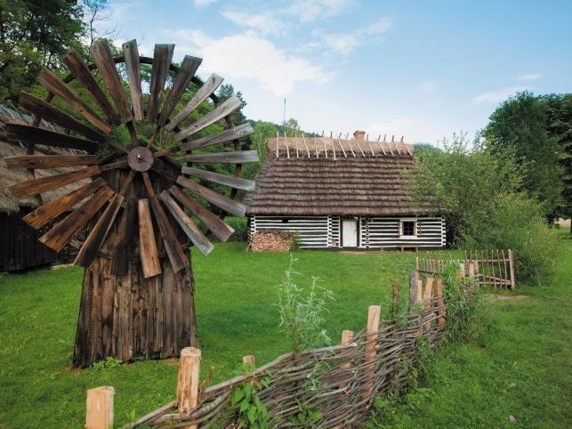The Museum of Folk Architecture in Sanok