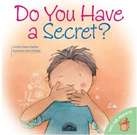 Book and role play activity helps kids understand how to tell the difference between good and bad secrets and gives them practice in telling an adult when a secret makes them feel uncomfortable, yucky, scared, or sad.