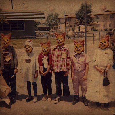 : Cats, Treats, Vintage Halloween, Vintage Wardrobe, Dental Care, Square, Families, Halloween Masks, Kids Costume