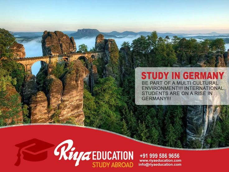 Abroad Education in Germany - Be part of  a Multicultural Environment !!!  International Students are on a rise in Germany.