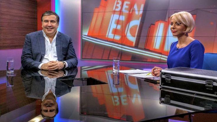 """Саакашвили: нужно выгонять такую власть. """"Большой эфир"""" с Орловской 08.0..."""
