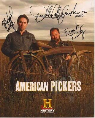 I want to spend a day pickin' with Frank & Mike on American Pickers!