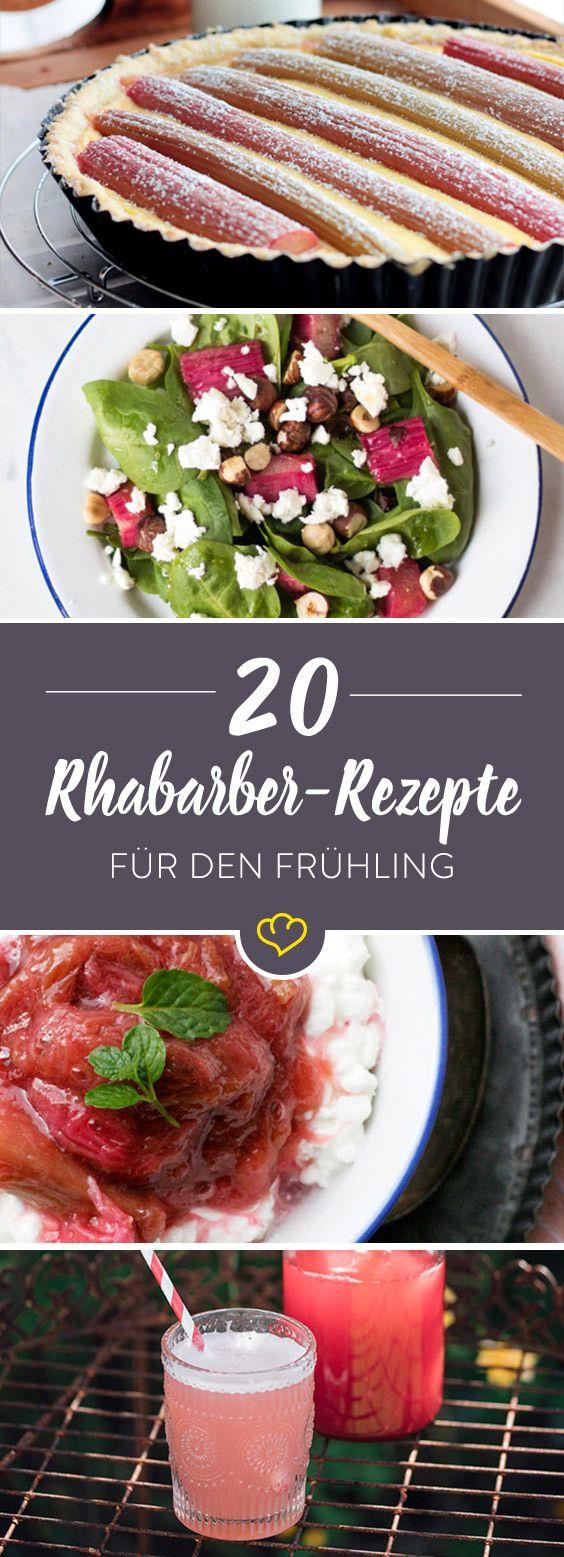 Frühlingsküche: 20 Rezepte mit Rhabarber