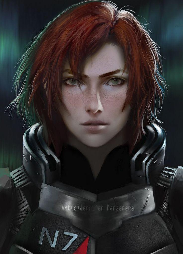 Créations de fans Mass Effect #77 - Mass Effect Universe - looks VERY different from my femshep, but still so cool