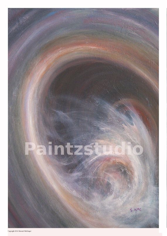 Abstract art print surreal print abstract stylized by Paintzstudio