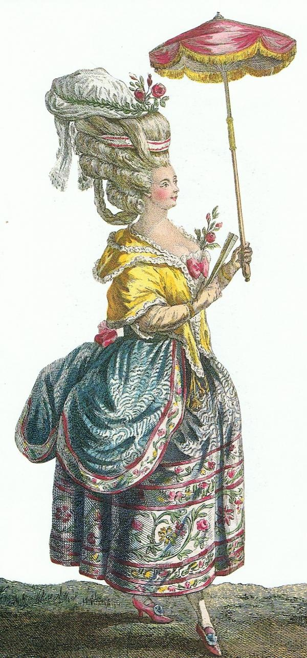98 best 18th century hairstyles images on pinterest for French rococo fashion