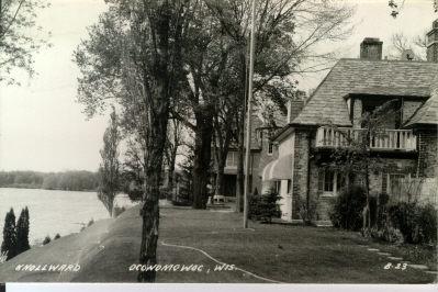 Knollward postcard Oconomowoc, WI
