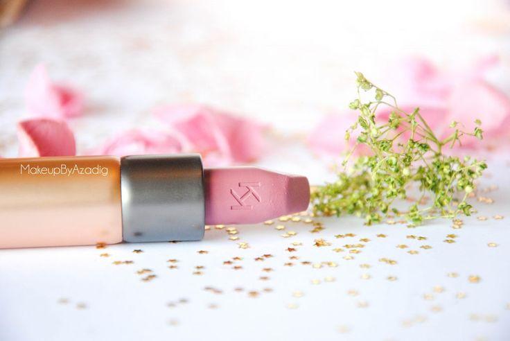 velvet passion matte kiko milano cosmetics beauty blogger makeupbyazadig rouge a levres vieux rose