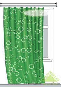 Как рассчитать ткань на шторы