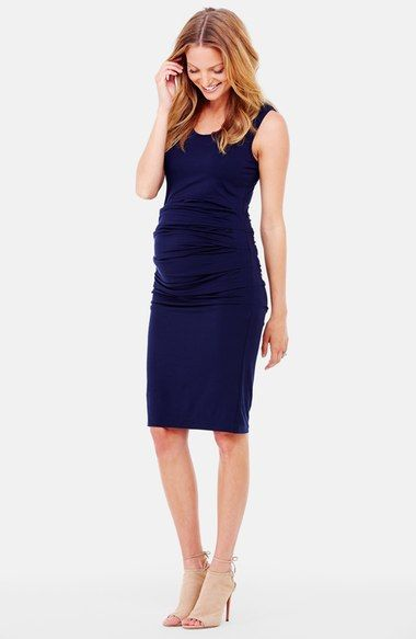 Free shipping and returns on Ingrid & Isabel® Ruched Maternity Tank Dress at Nordstrom.com. Ruching creates soft gathers on a fitted tank dress that flatters and celebrates your curves.