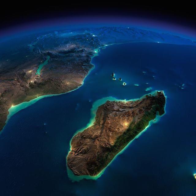 Madagascar e Costa Oeste Africana