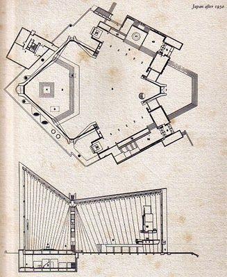 arquitecturavillavisencio: Kenzo Tange (丹下健三): arquitetura moderna.