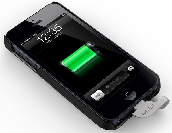 MiLi Power Spring 5 - The Best iPhone 5 battery Case.