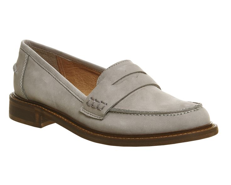 Buy Grey Nubuck Office Demanding Softy Loafer With Thick Rand from OFFICE .co.uk