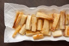 Yuca (Cassava) Fries | The Domestic Man