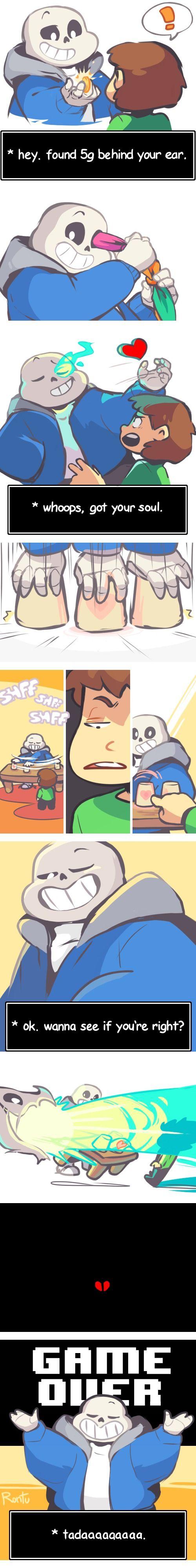 Sans and Chara - comic
