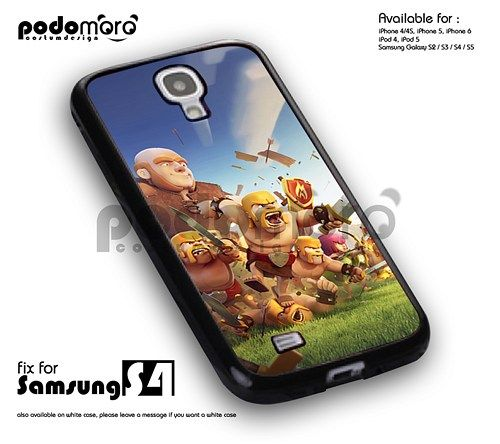 Blue Sky Clash Of Clans - samsung s4