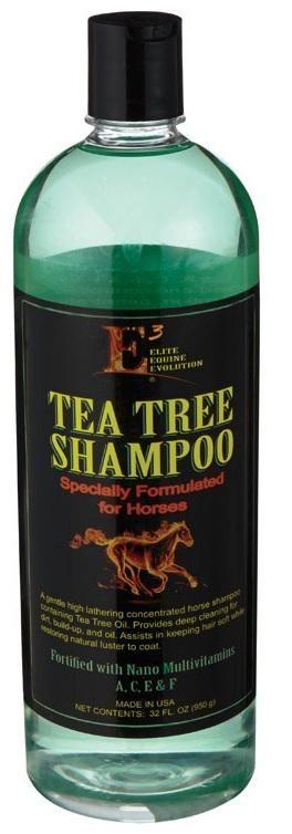 E3 MS3993 Tea Tree Horse Shampoo, 32 Oz