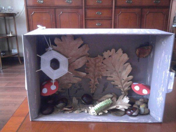 DagjeWeg.NL knutseltip: maak met de kids een herfstdoos!