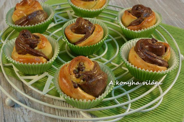 A konyha világa: Muffin rózsák