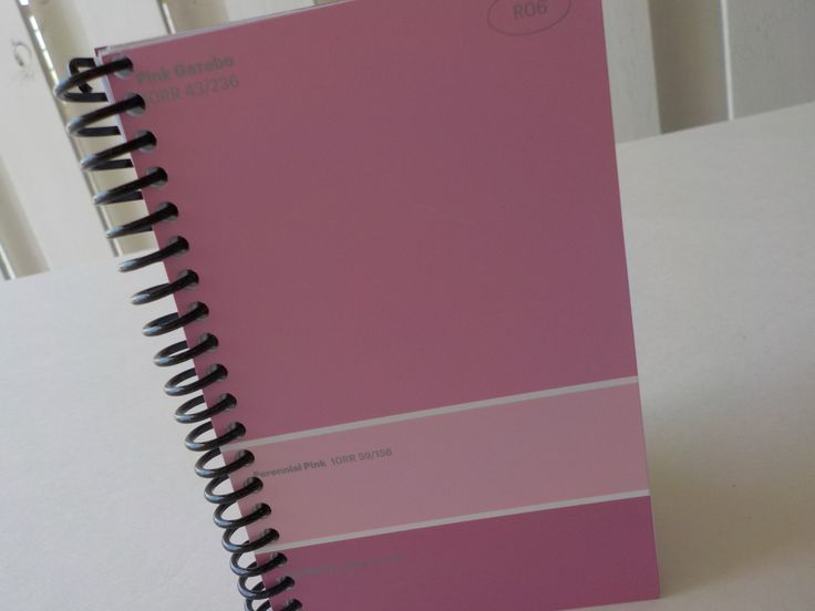 40 Best Handmade Paint Sample Card Notebooks Images On Pinterest