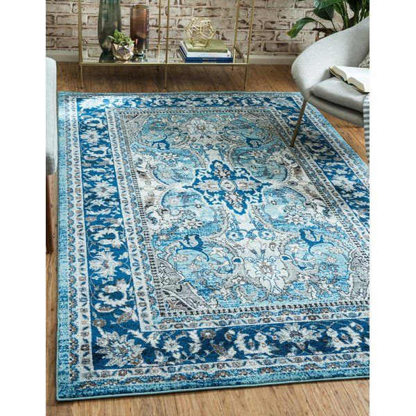 Scollo Dark Blue Black Gray Area Rug With Images Area Rugs