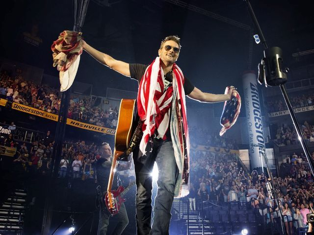 Eric Church ends tour with record-breaking Nashville concert