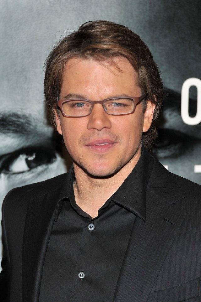 Matt Damon - Born: Matthew Paige Damon, October 8, 1970 in Boston, Massachusetts, USA.