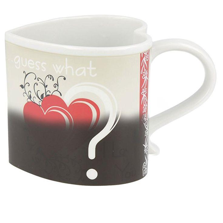 Magic Cup Herztassen Mit Liebeserklärung Bei Temperaturanstieg Valentinstag  Geschenk Für Ihn Kaufen Valentinstag Mann Valentinstag Frau