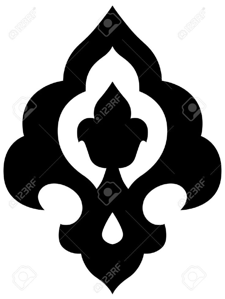 Beautiful Ottoman Iznik Style Motif In A Circular Frame Royalty Free Cliparts, Vectors, And Stock Illustration. Pic 11079646.