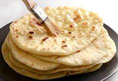 "Pravý indický chlieb ""naan"" - Receptik.sk"