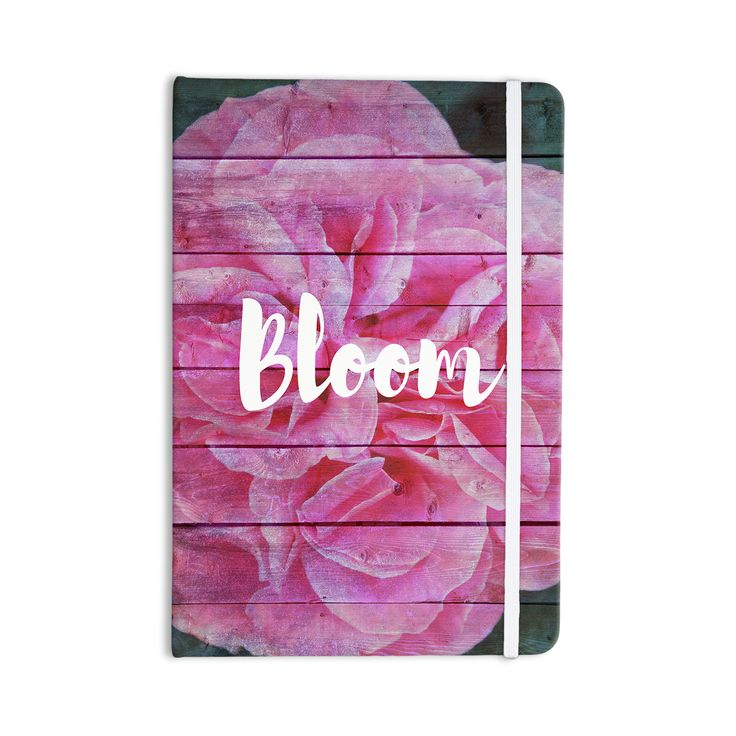 Suzanne Carter 'Bloom Typography' From KESS InHouse