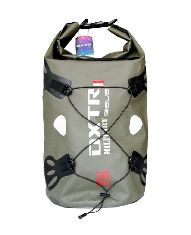 DXTR Waterproof bag by Dekka, for you who love to do a extreme sport, perfect for diving, fishing or even when you playing in the beach, this bag has a reflective sticker on it so you can see it in the dark, this bag sure will carry your things safely. http://www.zocko.com/z/JG97V