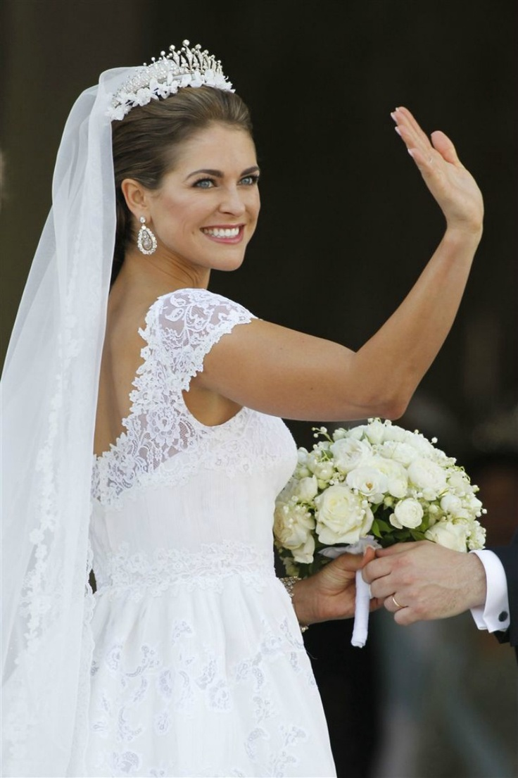 June 8, 2013 - Princess Madeline of Sweden & Chris O'Neil | Royalty | Swedish Royal Wedding