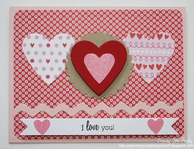 Valentine card: Cards Ideas, Sweet Valentines, Cards Tracey, 5Th Anniversaries, Valentine'S Cards, Cards Valentines, Valentines Cards, Design Cards, Creative Opinion
