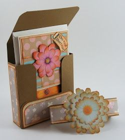 Make a gift box of cards. http://polkadoodle.blogspot.co.uk/2013/06/tutorial-gift-box-for-cards.html?m=1