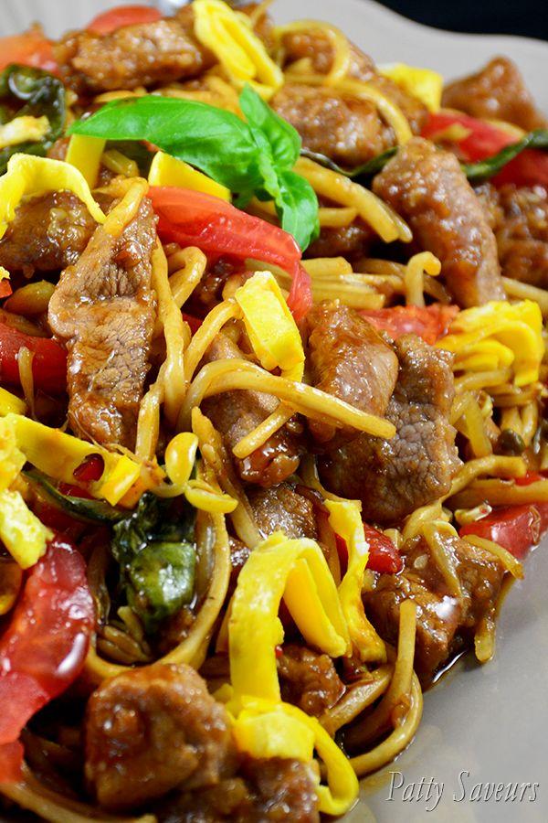 Pancit Canton Noodles – Pork and Veggies Stir Fry