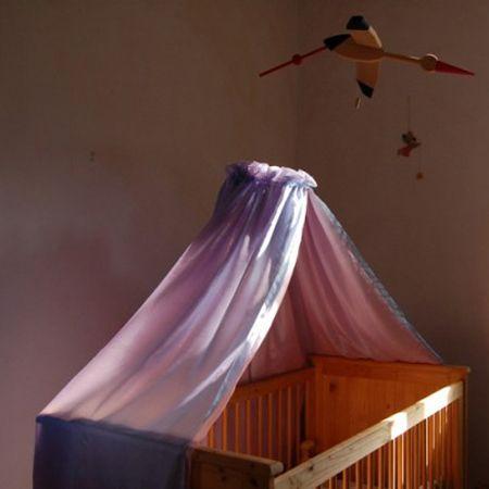 Mijn Hemeltje: zijden hemel voor wieg en ledikant