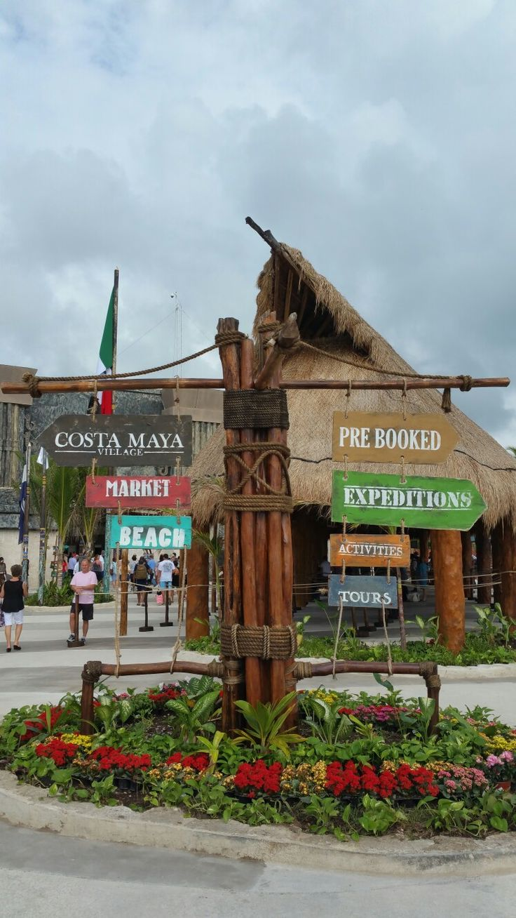 Costa Maya, Mexico  Port