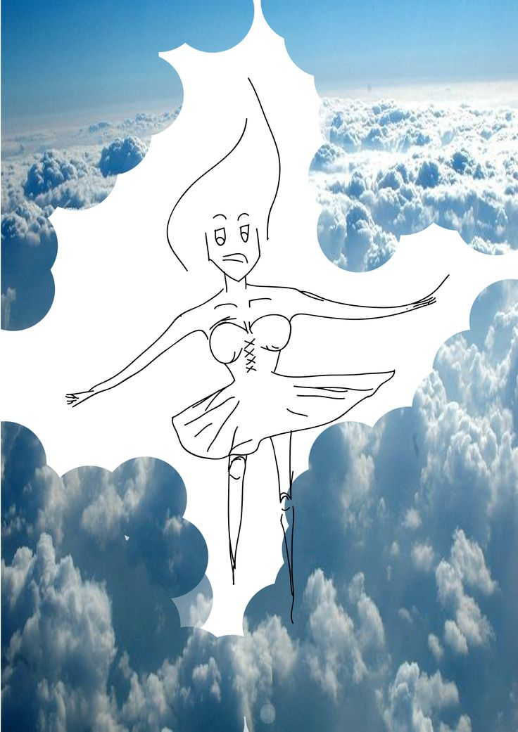 #angel #cloud #illustration