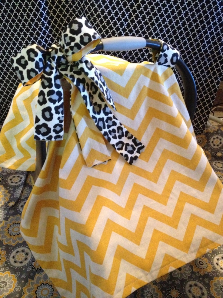 Crazy Cute Car Seat Cover @Brittany Horton Horton Horton Horton Horton Reichman you should start making these too :)