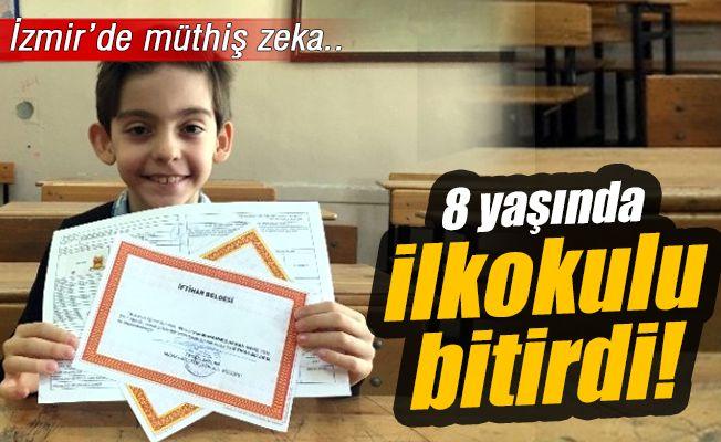 İzmir'in Göztepe ilçesinde yaşayan 9 yaşındaki Muhammed Hakan Nayiş, başarısıyla herkesi şaşırttı. Erken yaşta okuma yazma öğrenen, emeklemeden yürümeye başlayan Muhammed, öğrencisi olduğu Misak-ı Milli Ortaokulu'nda üstün başarısı sebebiyle kendisinden yaşça büyük öğrencilerle eğitim görüyor. Akademik zekası, sorduğu sorular ve yaptığı buluşlarla öğretmenlerini de şaşırtan Muhammed Hakan Nayiş'in IQ seviyesi (zeka seviyesi) de 160 çıktı. Devletin zeka seviyesi üstün öğrencilere tanıdığı…