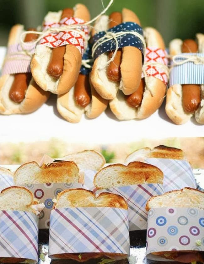 comida para fiesta de picnic