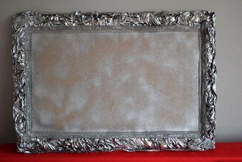 Zdjęcie użytkownika REmake by La Rosette.   pin board, easy to make, looks like antique