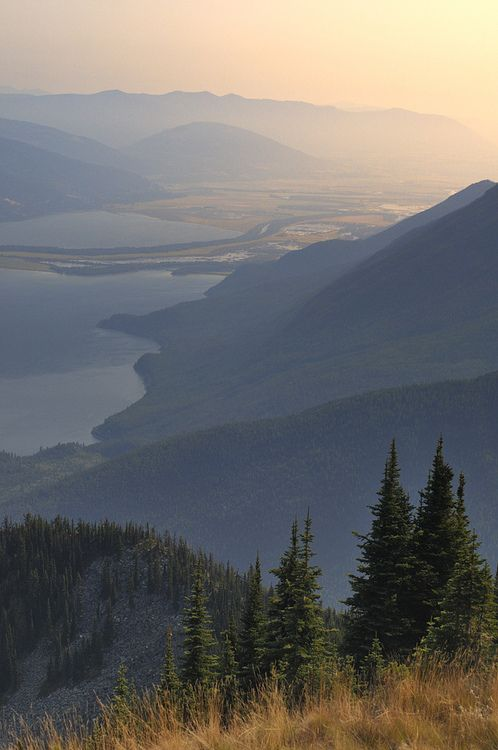 Kootenay Lake (by Tim Ennis~