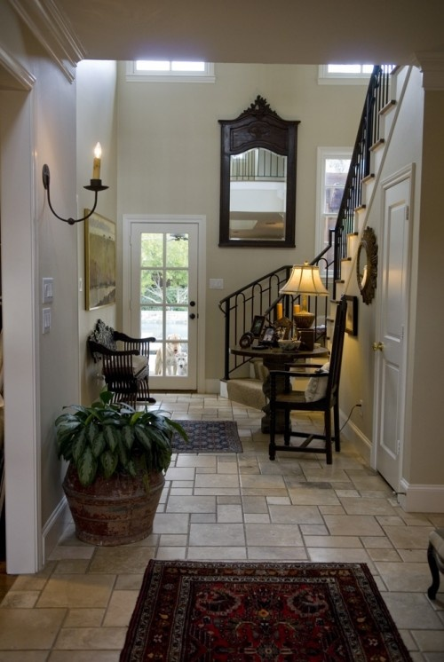 Small Foyer Tile Ideas : Best images about attic conversion on pinterest large