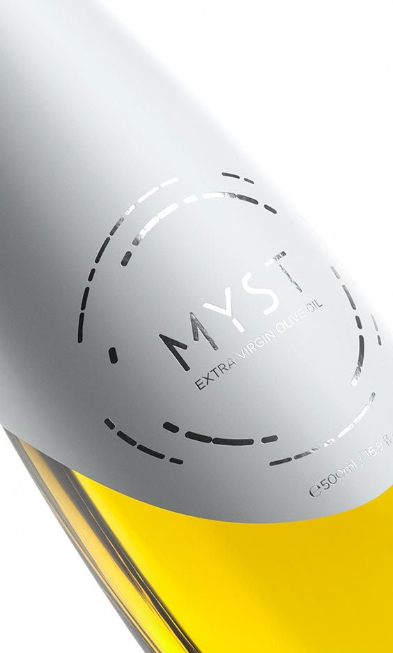 MYST® extra virgin olive oil contains aromas of herbs, citrus fruits and floral hints with remarkable length, exceptionally balanced.