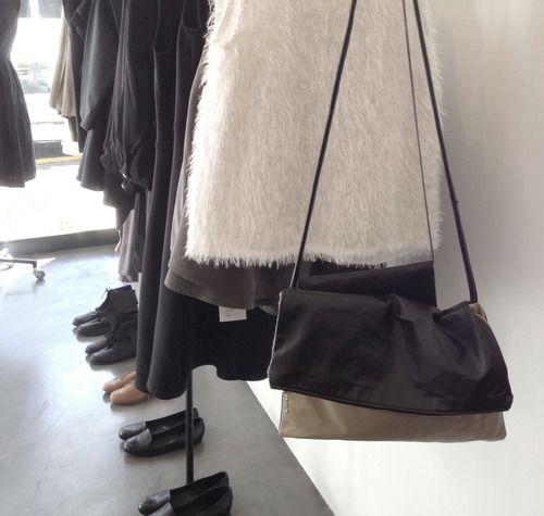 Tak e Care | Two-Tone Fold Over Bag R980 | info@takecareclothing.com