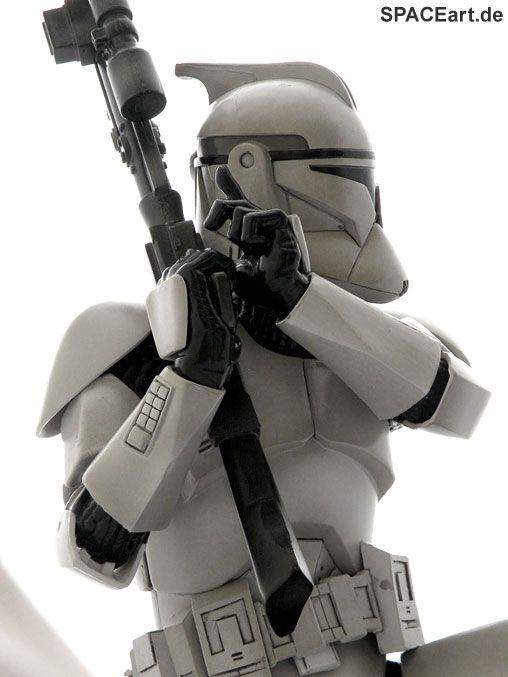 Star Wars: Clone Trooper Art FX Statue, PVC Figur ... http://spaceart.de/produkte/sw003.php