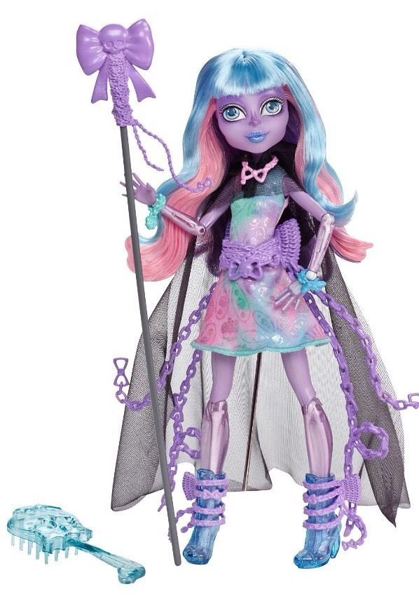 MONSTER HIGH HAUNTED  New  In Hand River Styxx Daughter Of The Grim Reaper #mh